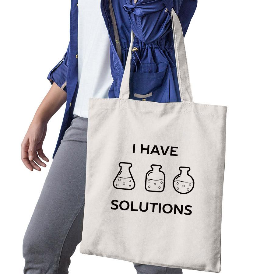 Science Designed Shopping Bag