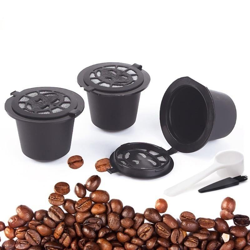 Reusable Coffee Capsules 4 Pcs Set