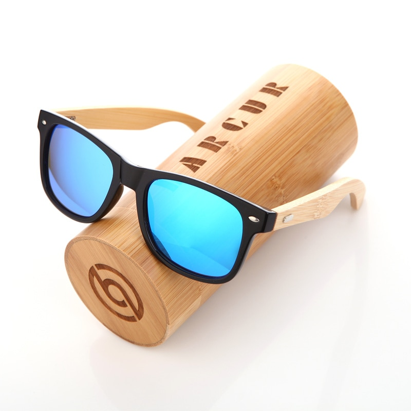 Men's Polarized Bamboo Sunglasses